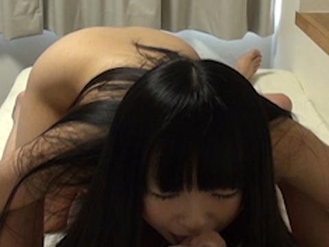 黒髪美肌の素人さん素人 無修正画像02
