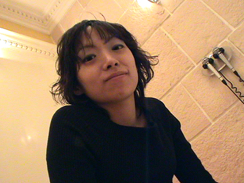 明るく笑顔が可愛い黒髪娘をぶっかけセックス希 無修正画像01