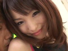 ロリ顔美少女モデルの鈴木ありさが3Pで玩具責めからの連続中出し Part.3