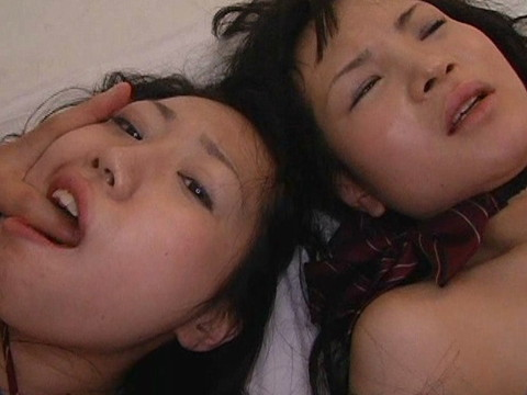 仲良しの女子校生が絶叫昇天しながらご奉仕セックス Part.1 無修正画像06