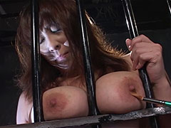 爆乳美少女を檻に閉じ込めてヤリたい放題